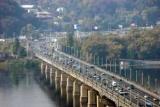 Теперь и мост Патона: В Киеве был закрыт на ремонт трех мостов одновременно